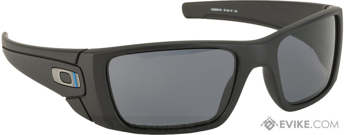 Oakley SI Fuel Cell - Thin Blue Line Black w/ Warm Grey Lenses