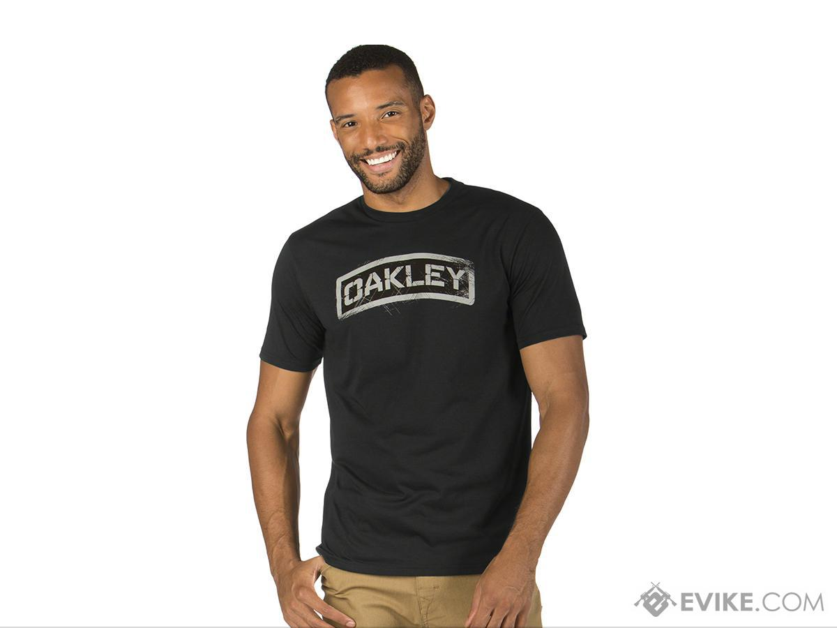Oakley Tab T-shirt - Heather (Size: Medium)
