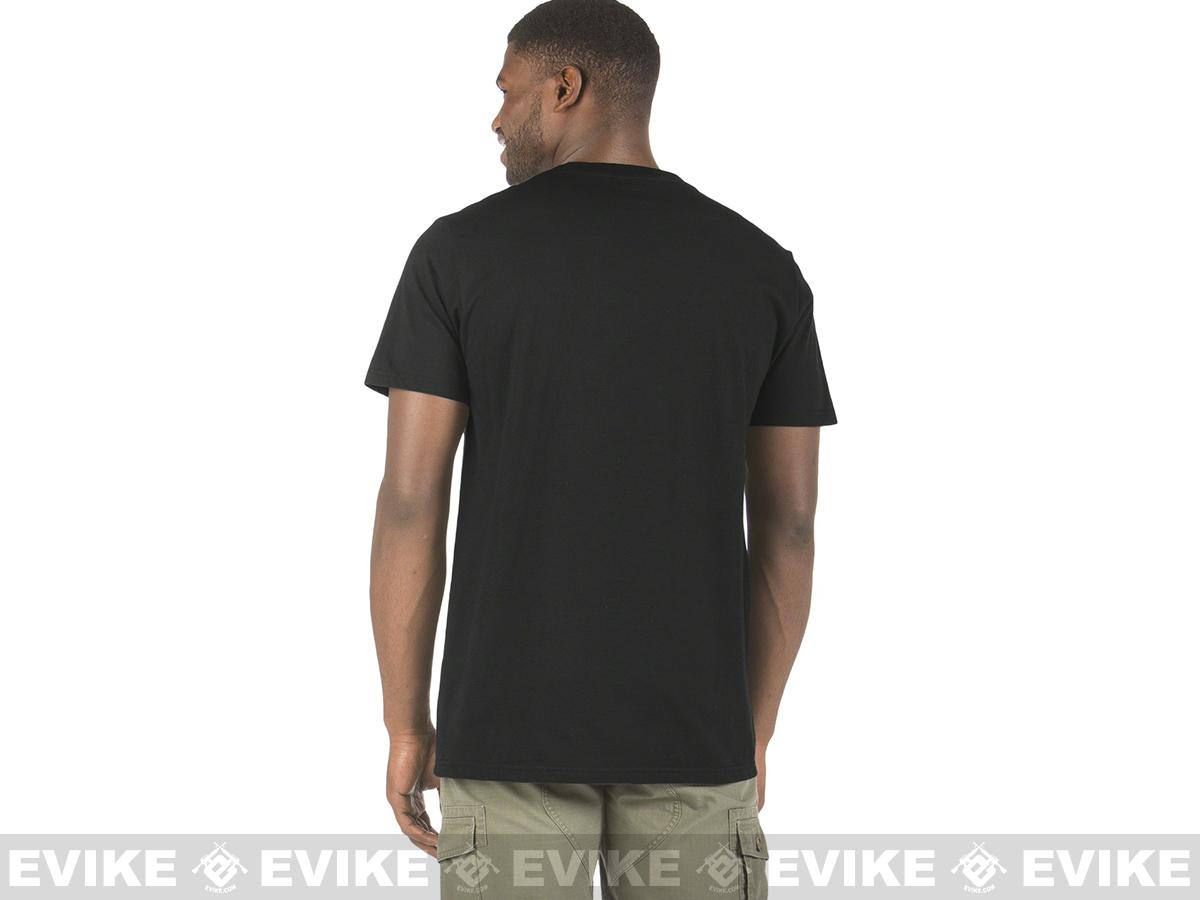 Oakley Stealth T-shirt - Black (Size: Large)