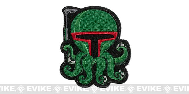 ORCA Industries Boba Octopus Embroidered Patch