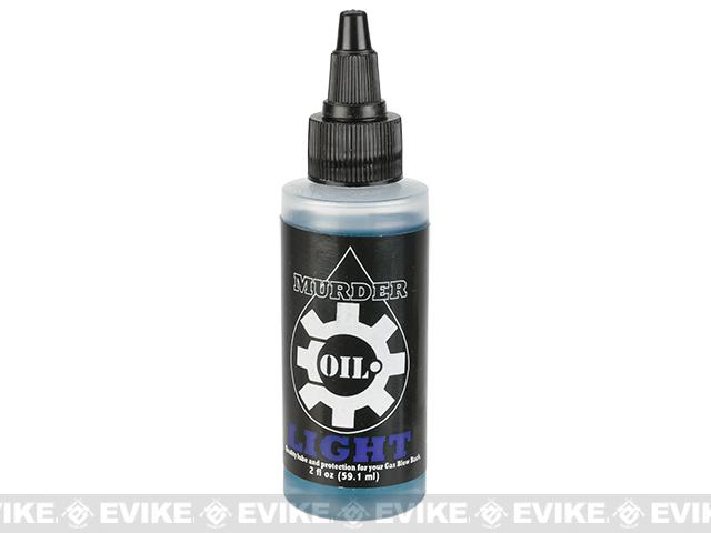 Murder Oil Airsoft Lubricant - 2oz Bottle / Light