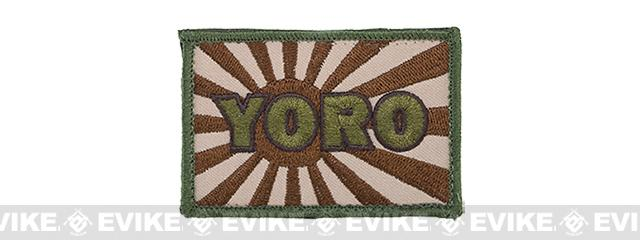 YORO Kamikaze Hook and Loop Patch - Arid