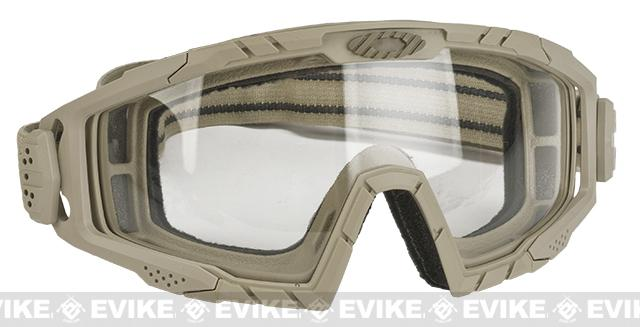 Oakley SI Ballistic Goggle 2.0 Array - Dark Bone / Clear & Gray Lenses