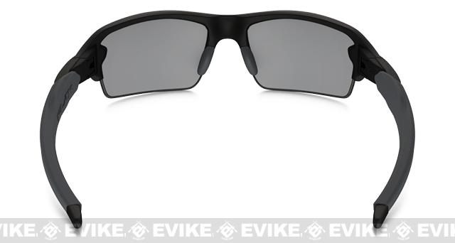 z Oakley Flak Jacket 2.0 with Iridium Lenses (Asian Fit) - Black