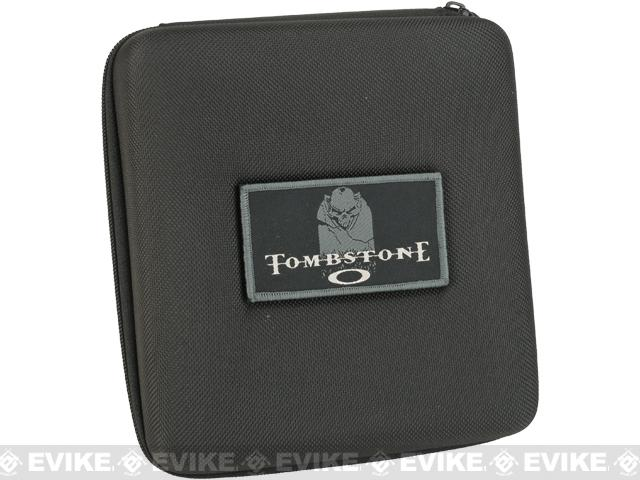 z Oakley SI Tombstone® Reap Matte Black w/ Tombstone® Carrying Case - Black Iridium