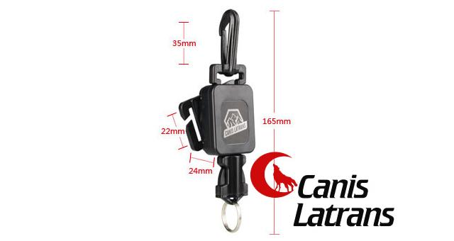 Canis Latrans MOLLE Tactical Gear Retractor