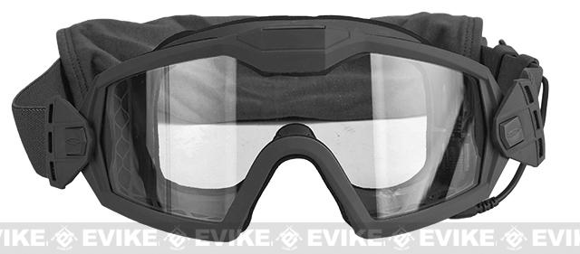 Smith Optics Outside the Wire Turbo Fan Goggle - Black (Smoked and Clear Lens)