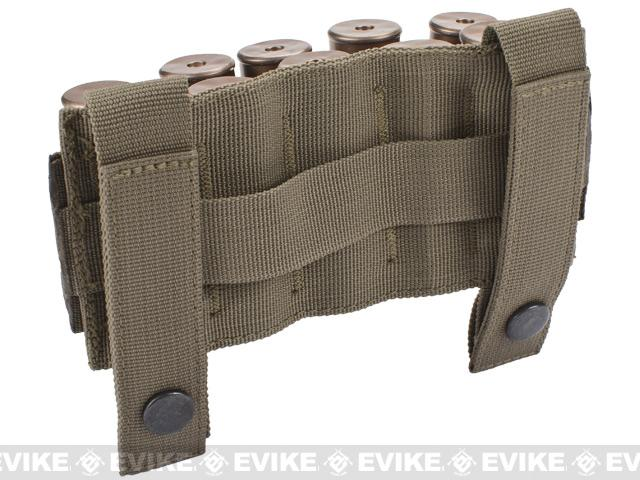 Matrix 10 Shotgun Shell MOLLE System Ready Pouch / Holster - Tan