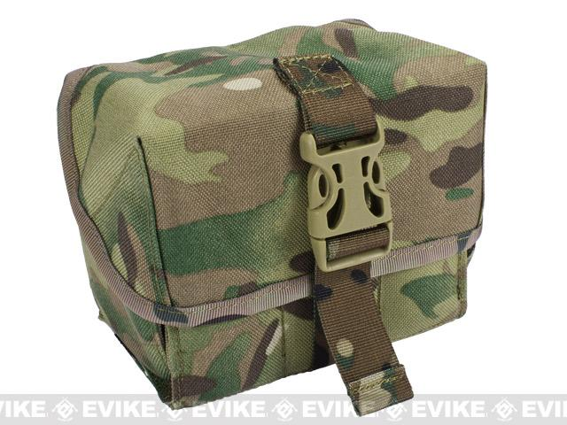 Matrix 40mm M203 Airsoft Grenade Shell Pouch - Land Camo