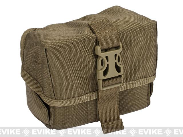 Matrix 40mm M203 Airsoft Grenade Shell Pouch - Coyote Brown