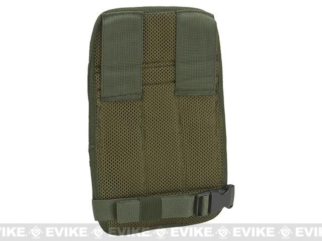 Airsoft Elite Leg Mounted  Triple SMG Magazine Pouch - Woodland