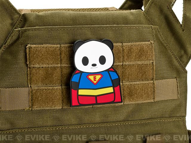 Epik Panda Hero PVC Rubber Hook and Loop Morale Patch