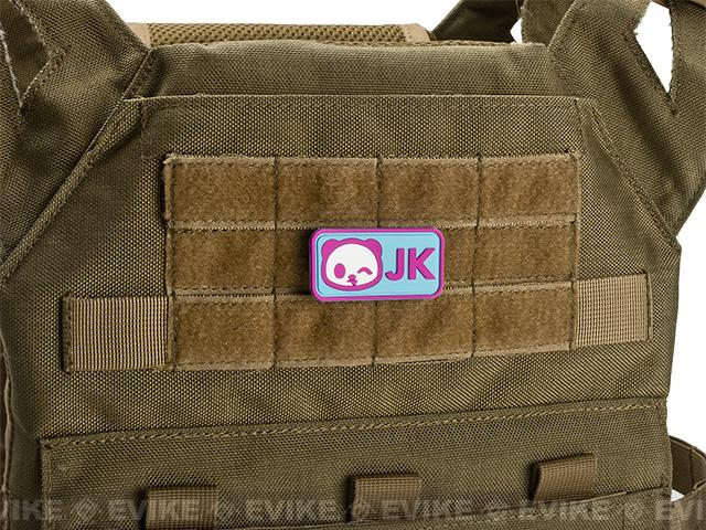 Epik Panda JK PVC Rubber Hook and Loop Morale Patch