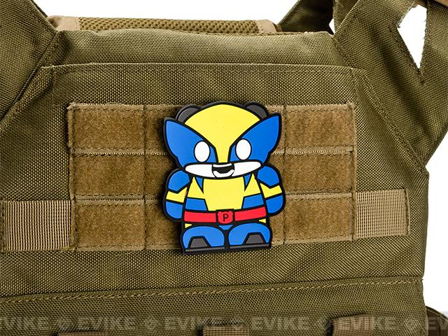 Epik Panda Pandarine PVC Rubber Hook and Loop Morale Patch