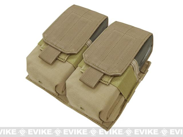 Pre-Order ETA January 2017 Condor Double M14 Magazine Pouch - Tan