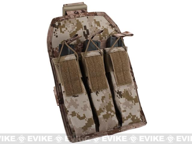 Matrix Airsoft SMG Magazine Thigh Pouch - Digital Desert