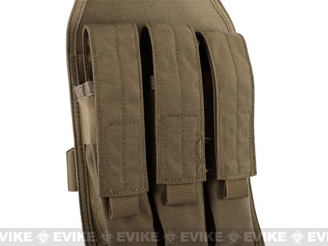 Matrix Airsoft SMG Magazine Thigh Pouch - Black