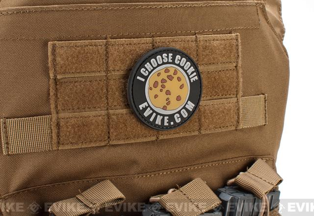 Evike.com PVC IFF Patch - I Choose Cookie (2.5)