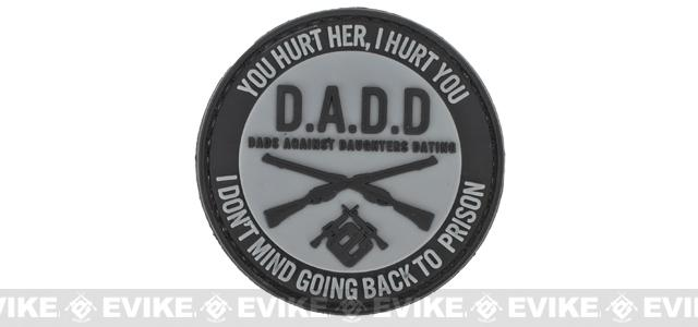 Evike.com PVC Hook & Loop  IFF Patch - D.A.D.D. Dads Against Daughters Dating (2.5)