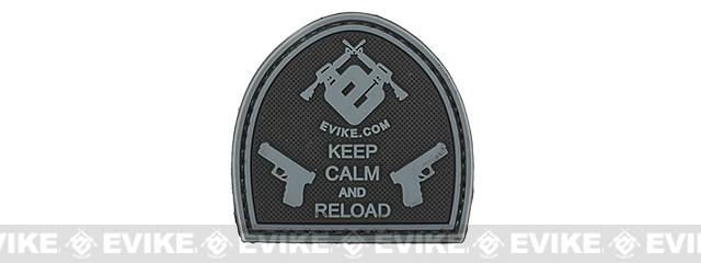 Evike.com Keep Calm PVC Morale Patch - Black