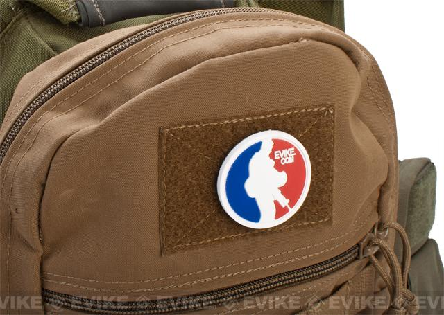 Evike.com MLA Major League Airsofter PVC Hook and Loop Morale Patch