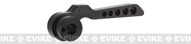 z SPEED Airsoft CNC Aluminum APS2 Bolt Handle - Black