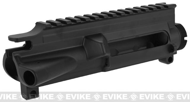 WE-Tech OEM Replacement Upper Receiver for WE M4-SOL Series GBB Rifles - Part# 22 (Black)