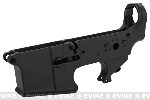 WE-Tech OEM Replacement Lower Receiver for WE M4 Series GBB Rifles - Part# 105 (Black)