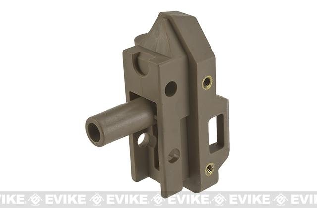 WE-Tech Replacement Stock Adapter for MSK Series Airsoft GBB Rifles - Part# 165 (Tan)