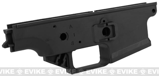 WE-Tech OEM Polymer Lower Receiver for SCAR Series GBB Rifles Part# 102 - Black