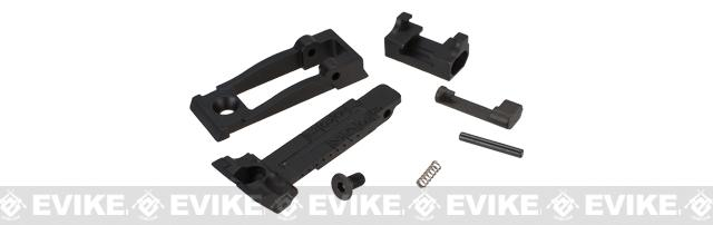 WE-Tech Replacement Rear Sight for P08 Series Airsoft GBB Pistols - Black