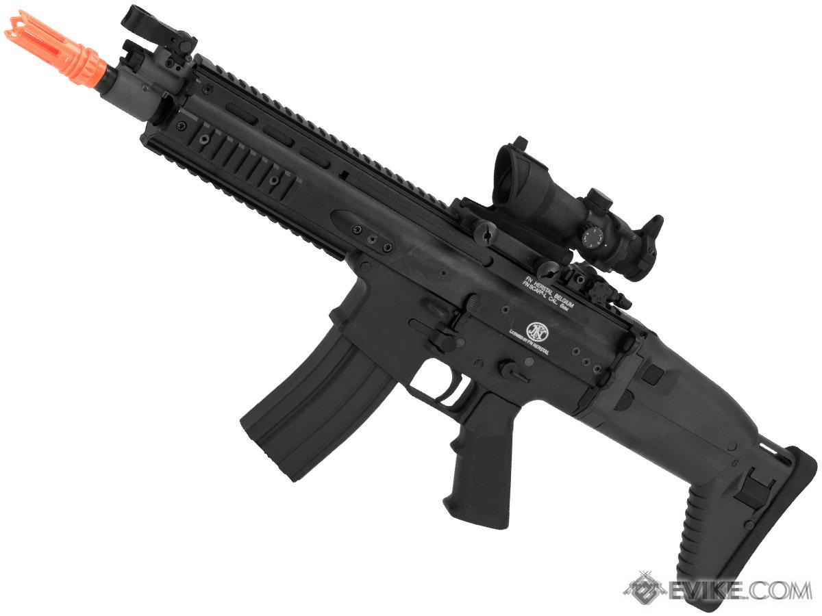 Pre-Order ETA June 2017 FN Herstal Licensed SCAR Airsoft AEG Rifle by Dboy - Black