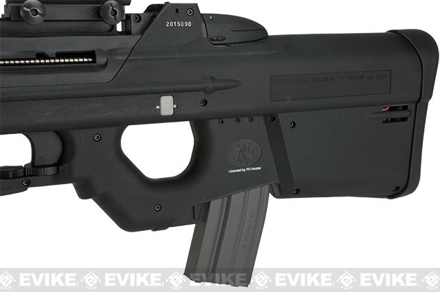 G&G FN Herstal Licensed  FN2000 Airsoft AEG Rifle - Black (Package: Gun Only)