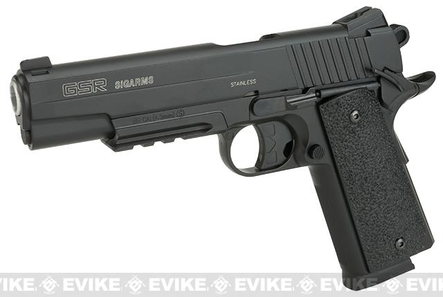 SIG Sauer GSR 1911 4.5mm CO2 Gas Non-Blowback Full Metal (NOT AIRSOFT) Air Gun Pellet Pistol