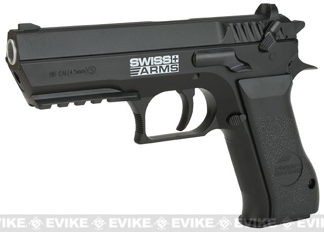 Swiss Arms  941 Co2 Powered Airgun (.177 cal BB Airgun NOT AIRSOFT) - Black