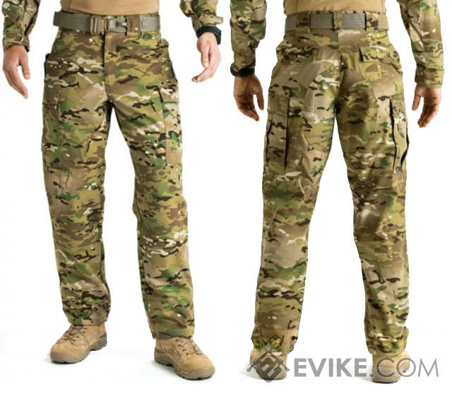 5.11 Tactical TDU Pants (Size: XL) - Multicam