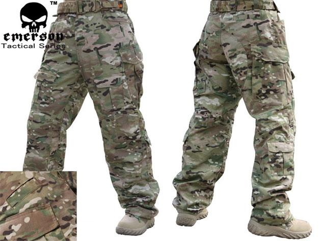 Emerson High Speed Combat Pants - Land Camo (32W)