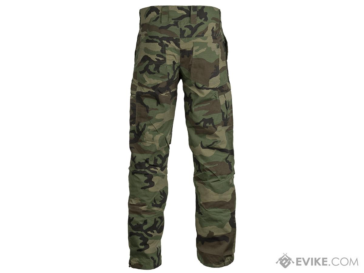 Valken Combat KILO Down Pants - Woodland (Size: Small)