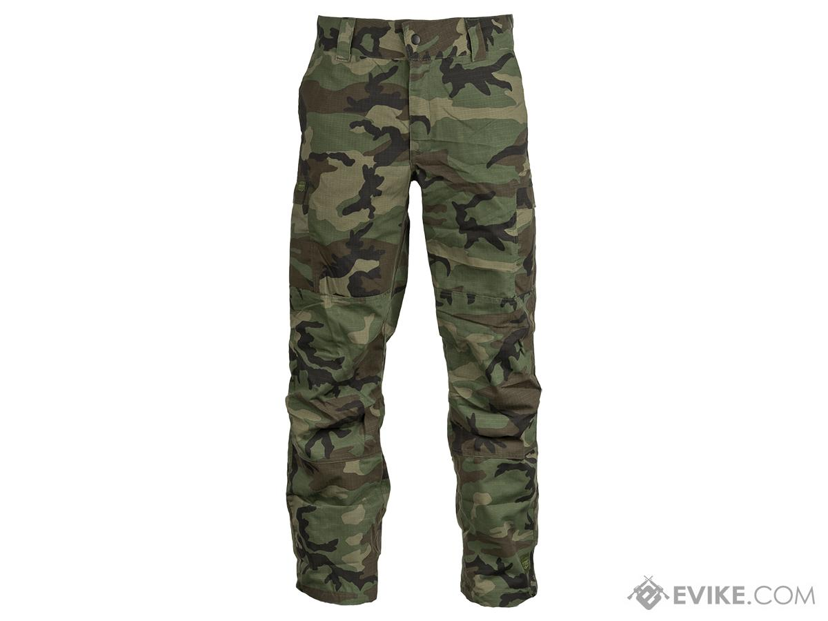 Valken Combat KILO Down Pants - Woodland (Size: X-Large)