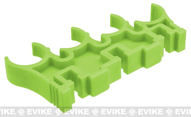 Shotshell Clips for 8 Round APS Shotshell Caddy System - Green