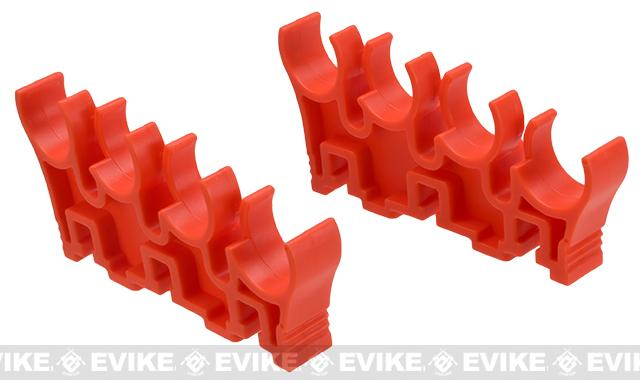 Shotshell Clips for 8 Round APS Shotshell Caddy System - Orange