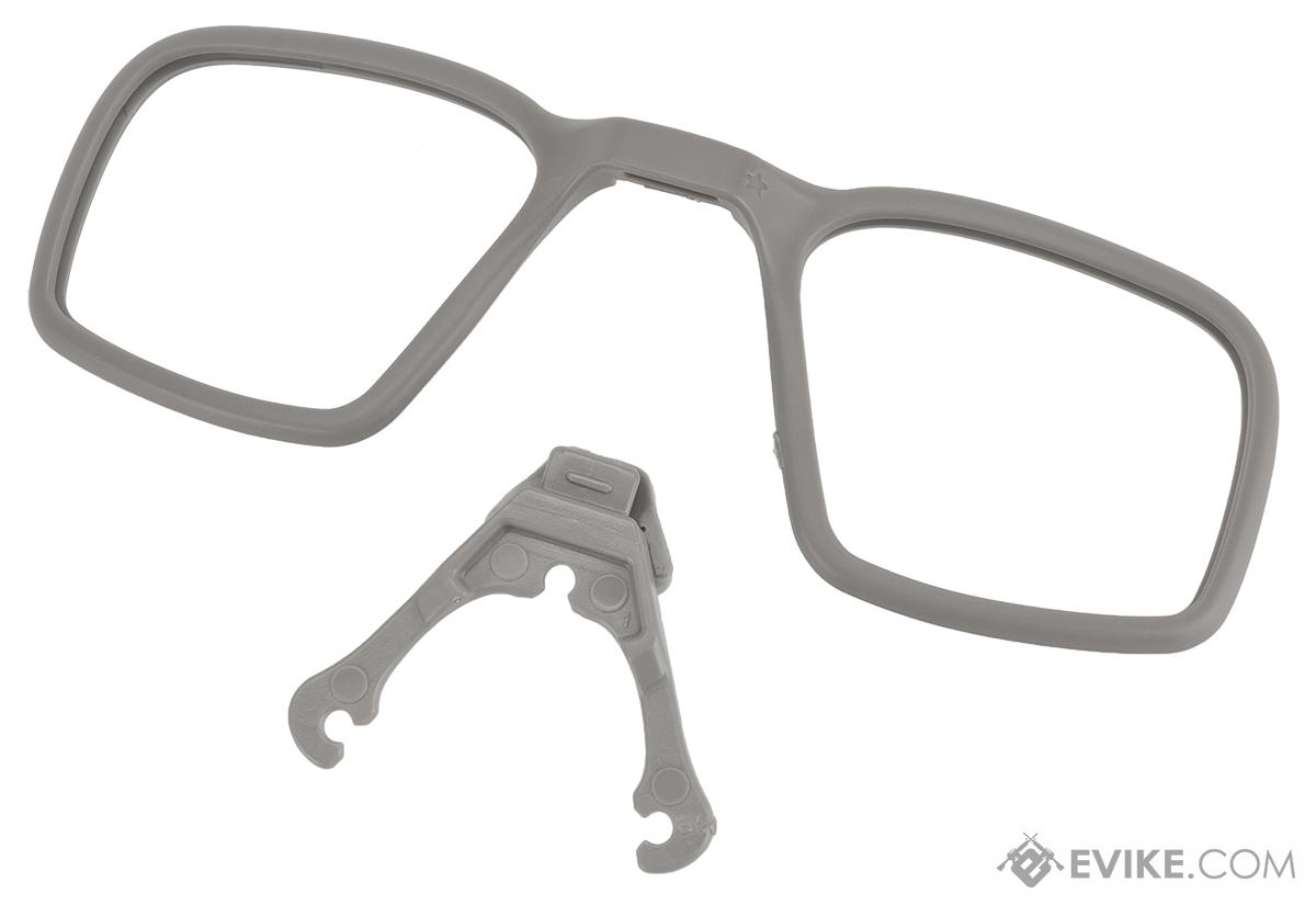Revision Prescription (Rx) Carrier and Connector System for Revision Ballistic Eyewear