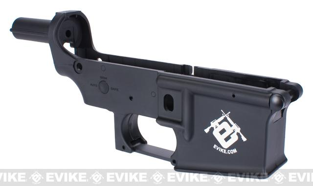 Spare ABS Polymer Lower Receiver for G&G GR16 Blowback AEG - (Black)