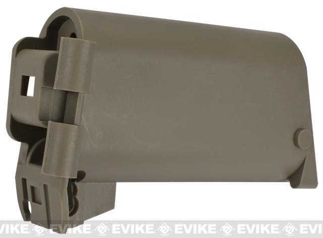Stock Base for WE SCAR Series Airsoft GBB Rifle - Tan