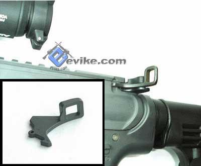 z Matrix Steel Charging Handle Tactical Latch for WA / WE M4 Series Airsoft Gas Blowback Rifle