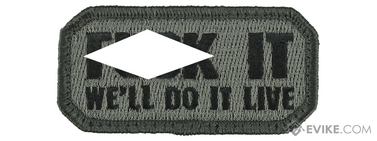 Mil-Spec Monkey Do it Live Morale Patch (Color: ACU Dark)