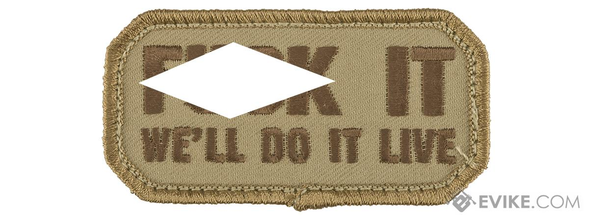 Mil-Spec Monkey Do it Live Morale Patch (Color: Desert)