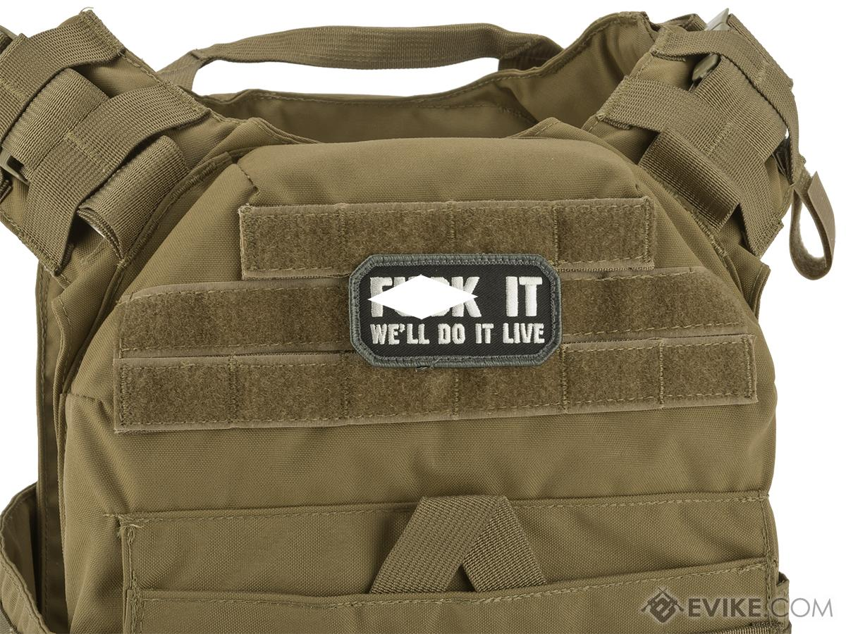 Mil-Spec Monkey Do it Live Morale Patch (Color: SWAT)