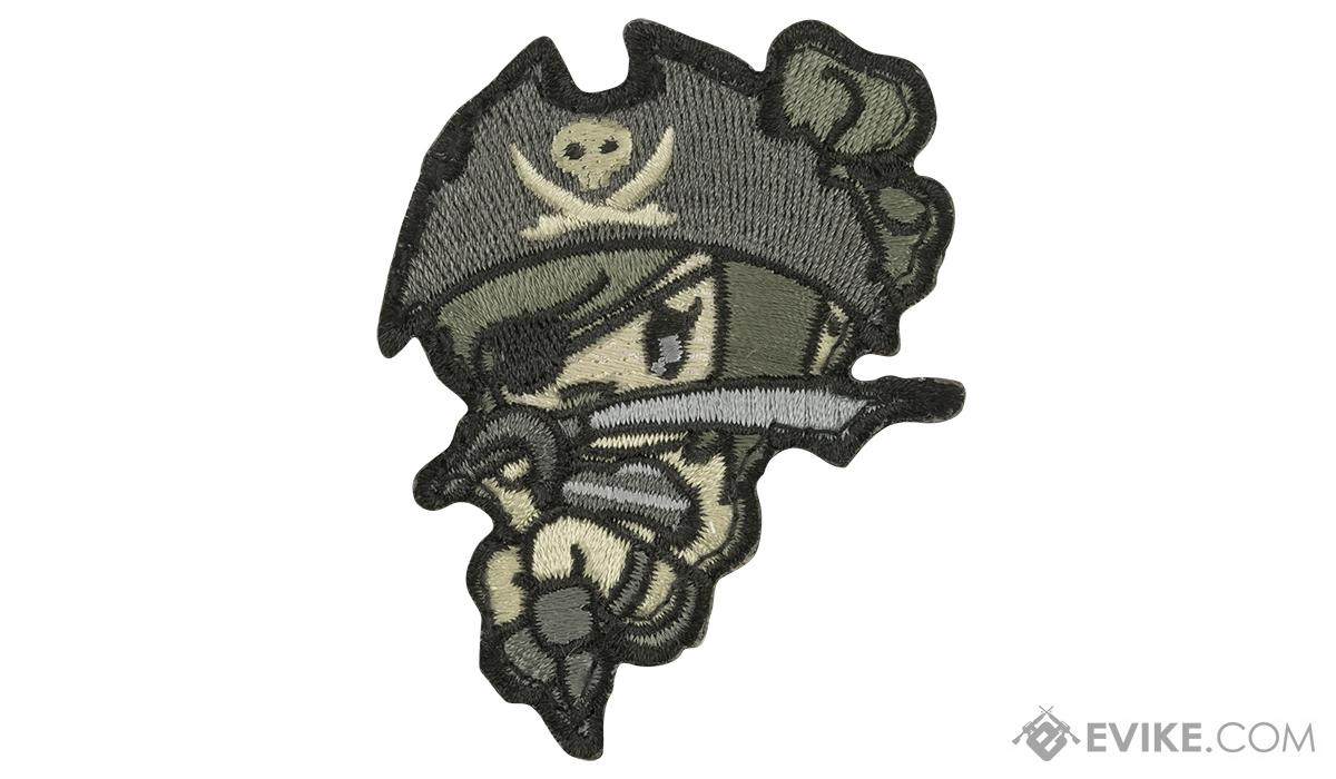 Mil-Spec Monkey Pirate Girl Morale Patch (Color: ACU)
