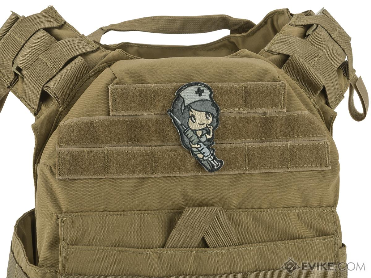 Mil-Spec Monkey Nurse Girl Morale Patch (Color: ACU)